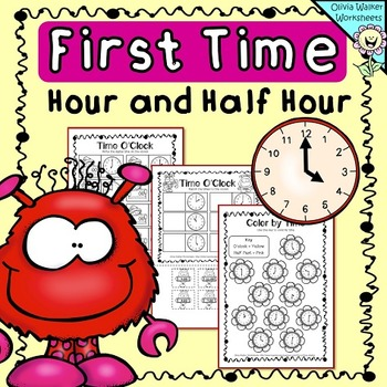 Time Oclock And Half Past Worksheets Printables Digital Analogue