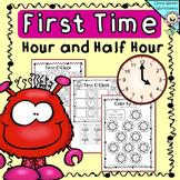 Time - O'clock and Half Past,  Worksheets, Printables, Dig