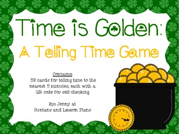 Time is Golden: A Telling Time Game