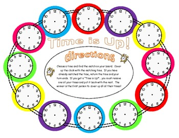 Time is Up!- Matching Times