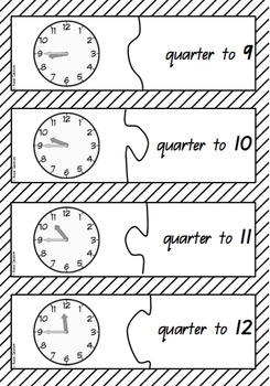 Time jigsaw