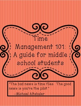 Time management 101: A guide for middle school students