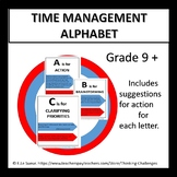 Time management Alphabet