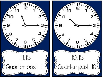 Time mini packet {Freebie}