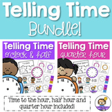 Time activities and worksheets BUNDLE