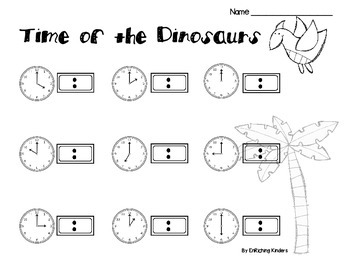 Time of The Dinosaurs