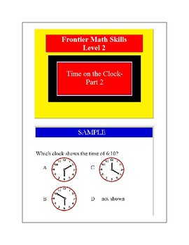 Time on the Clock-Part 2