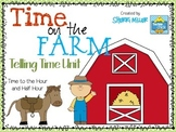 Time on the Farm: Telling Time to the Half Hour Bundle