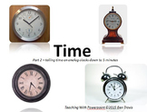 Time part 2 - reading clocks to 5 minute intervals - Teach