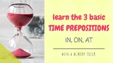 Time prepositions (IN, ON, AT): A Memory Trick