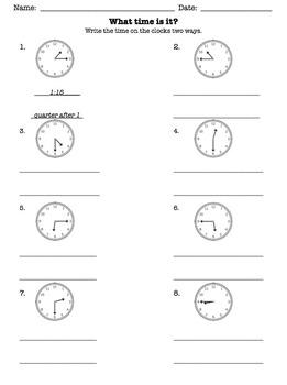 time quarter after half past quarter to worksheet by modern schoolteacher. Black Bedroom Furniture Sets. Home Design Ideas