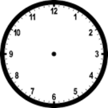 ¿Qué hora es? Draw clocks