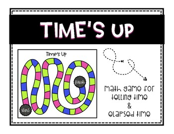 Elapsed Time and Telling Time Game