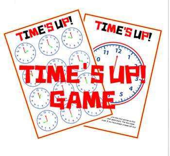 Time's up o'clock game
