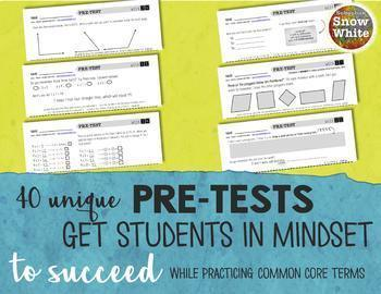 Multiplication Tests for Growth Mindset: 12s