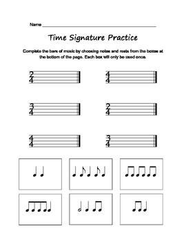 Time signature practice