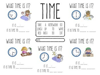 Time - speaking concepts