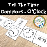 Time - tell the time dominoes - o'clock
