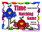 Time to 5 minutes Matching Game - Birds