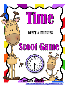 Time to 5 minutes - Scoot Game