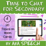 Time to Chat for Secondary