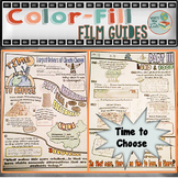 Time to Choose Colorfill Film Guide Doodle Notes