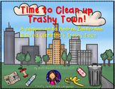 Time to Clean Up Trashy Town! - A Book Companion