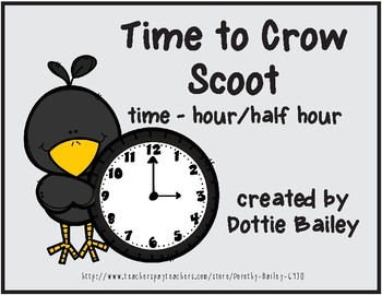 Time to Crow Scoot - Time - hour/half hour