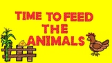 Time to Feed the Animals