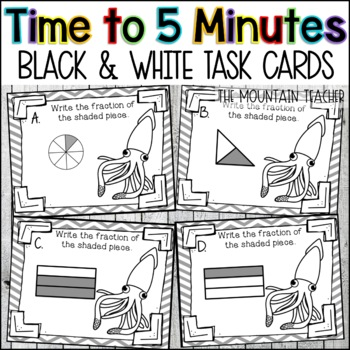 Time to Five Minute Task Cards