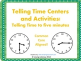 Time to Five Minutes Centers and Activities