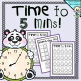Time to Five Minutes - Telling Time - Grade Two  Grade Three, Digital / Analogue
