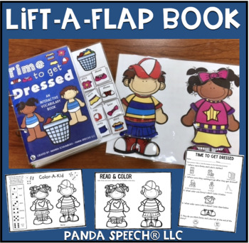 Time to Get Dressed!   An interactive & adaptive book
