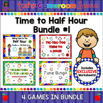 Time to Half Hour - Powerpoint Bundle #1