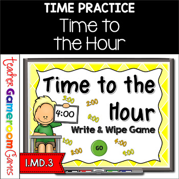 Time to Hour - Write & Wipe Powerpoint Game