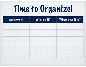 Time to Organize!