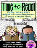 Time to Read!: A Colorful Reading Log