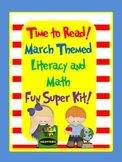 Time to Read Across America Literacy and Math Fun Kit (March Theme)