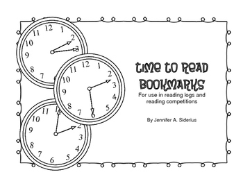 Time to Read Bookmark: for logging reading minutes