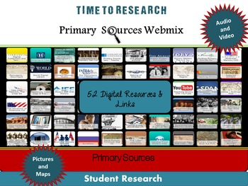 Primary and Secondary Sources Activity: Teaching Effective Research Skills
