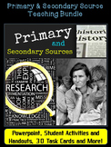Primary and Secondary Sources Activity: Teaching Effective