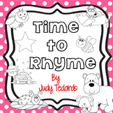Time to Rhyme Cut and Paste Book