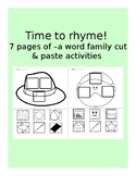 Time to Rhyme! (-a word families)