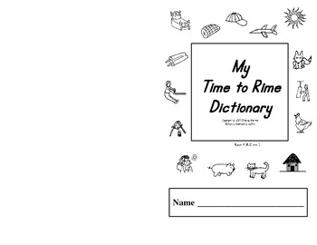 Word Families - Time to Rime A - D Book Set