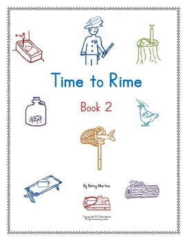Word Families Word Work: Time to Rime Book 2
