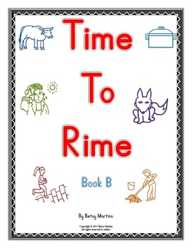 Word Families - Time to Rime Book B