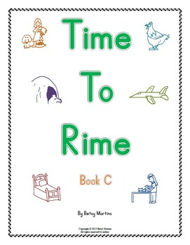 Word Families - Time to Rime Book C
