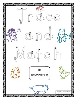 Word Families - Time to Rime Trace and Match A-D
