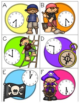 Time to Scoot -- Time to the Half Hour