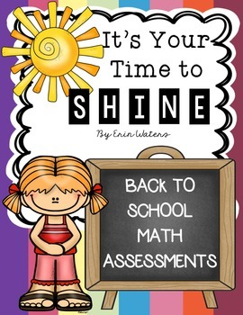 Time to Shine: Back to School Math Assessments